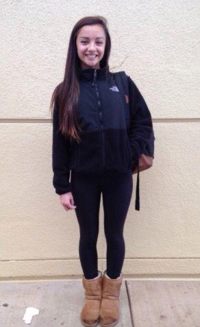 Northface jacket leggings and uggs #commonwhitegirl #typicalwhitegirl   Fall/Winter Fashion ...
