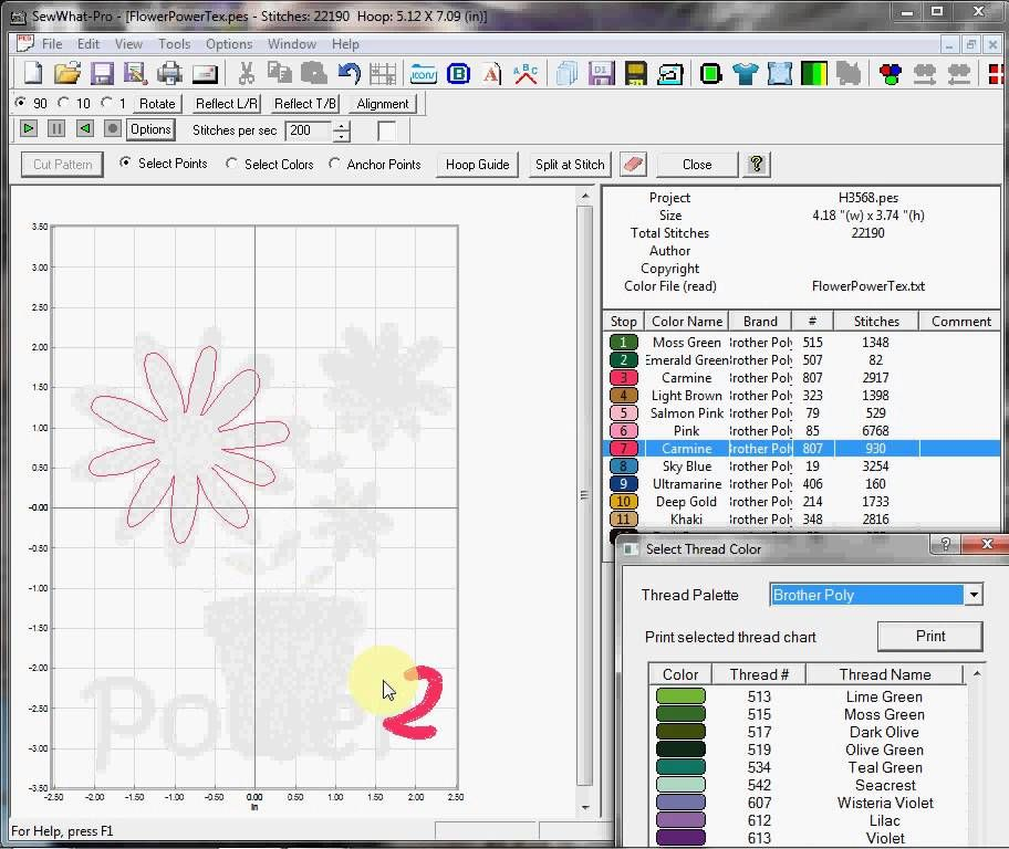 SWP Remove detail from design using split pattern tool | SewWhat Pro ...