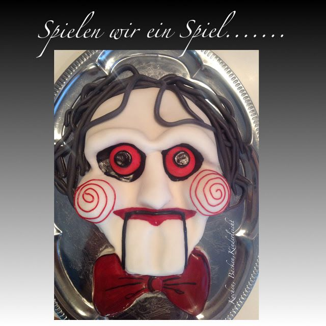 Eve's Kinder-Rezepte: Jigsaw Torte (Black Halloween Event 2015)