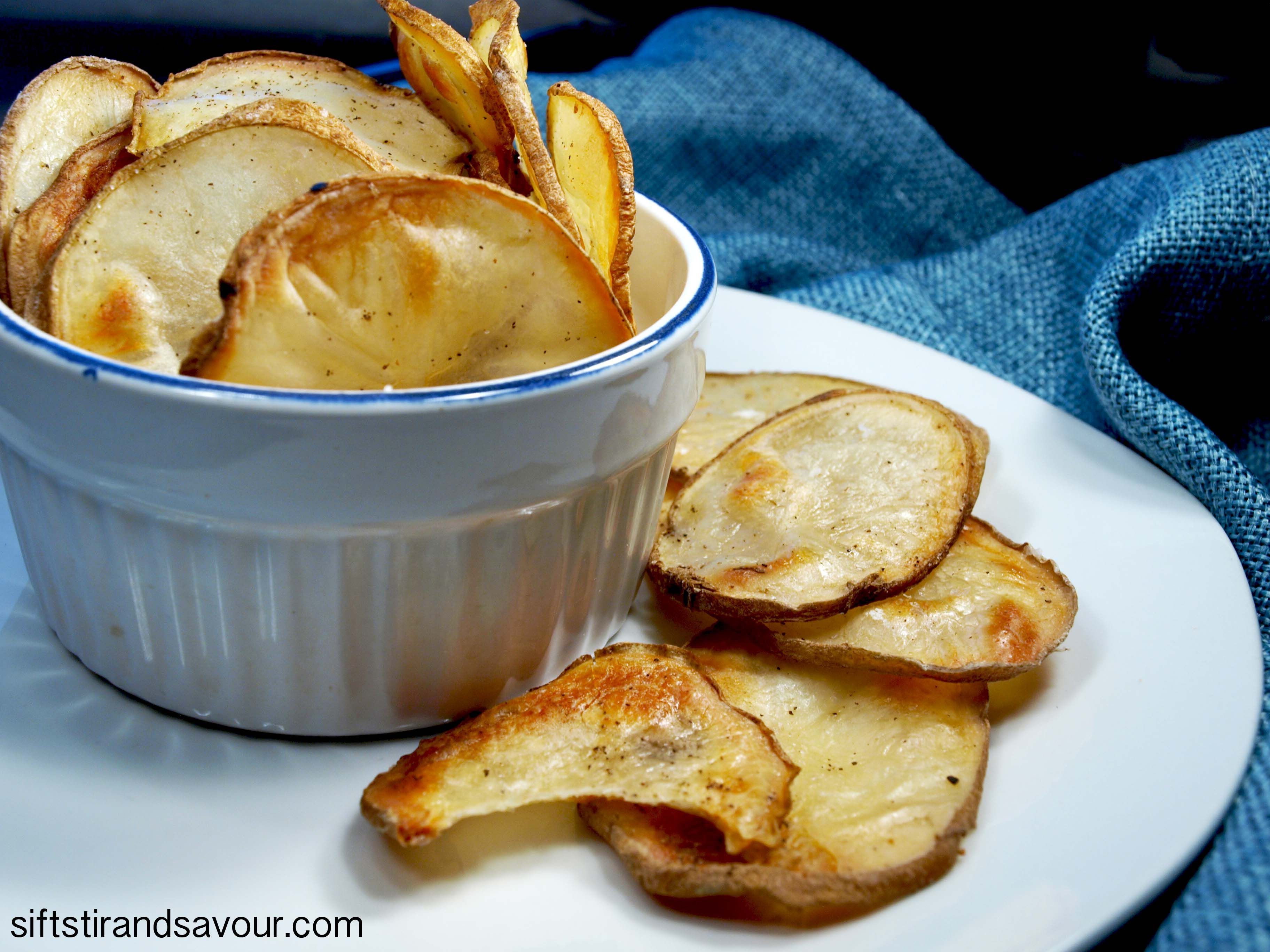 They're crunchy. They're salty. And the commercials are right, you can't have just one! You guessed it, I'm talking about potato chips: I'm not talking about those potato chips that leave your fing...