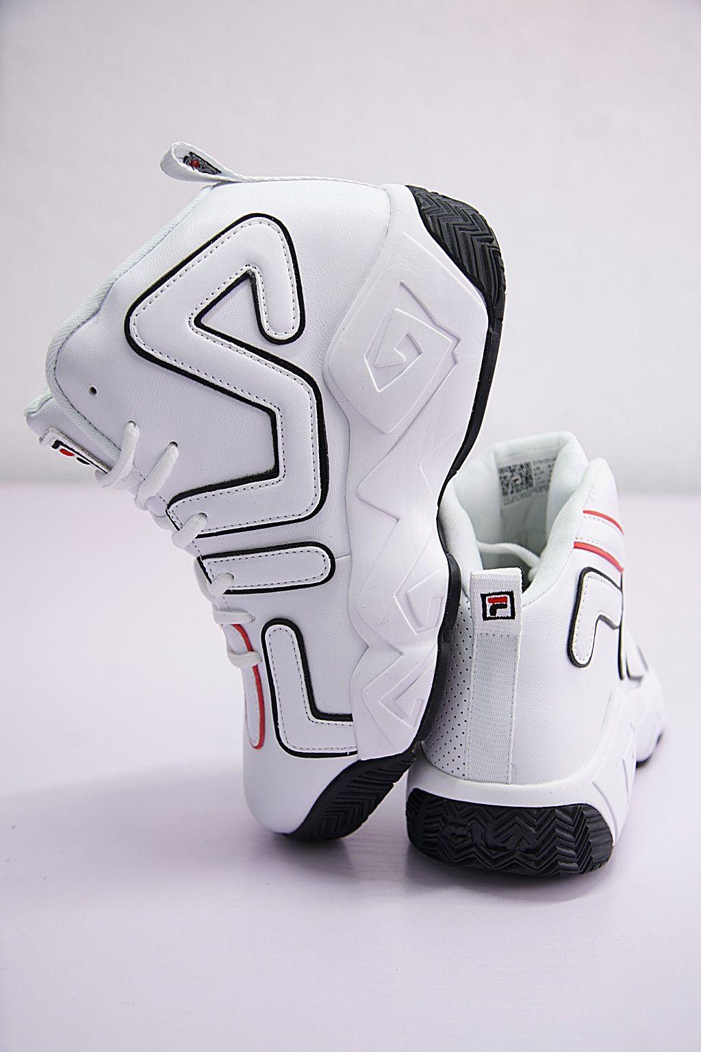 Fila Jamal Mashburn Mb1 F1xkw120148 White Shoes Black women