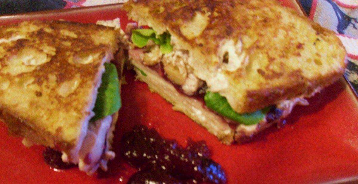 chicken-walnut cranberry Monte Cristos 004