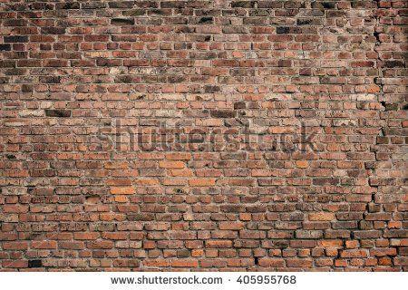 Old brick wall background. Grunge texture.
