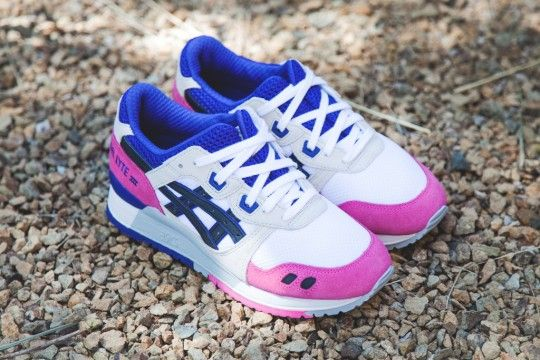 asics gel lyte 33 h301n 0190 white black purple 3