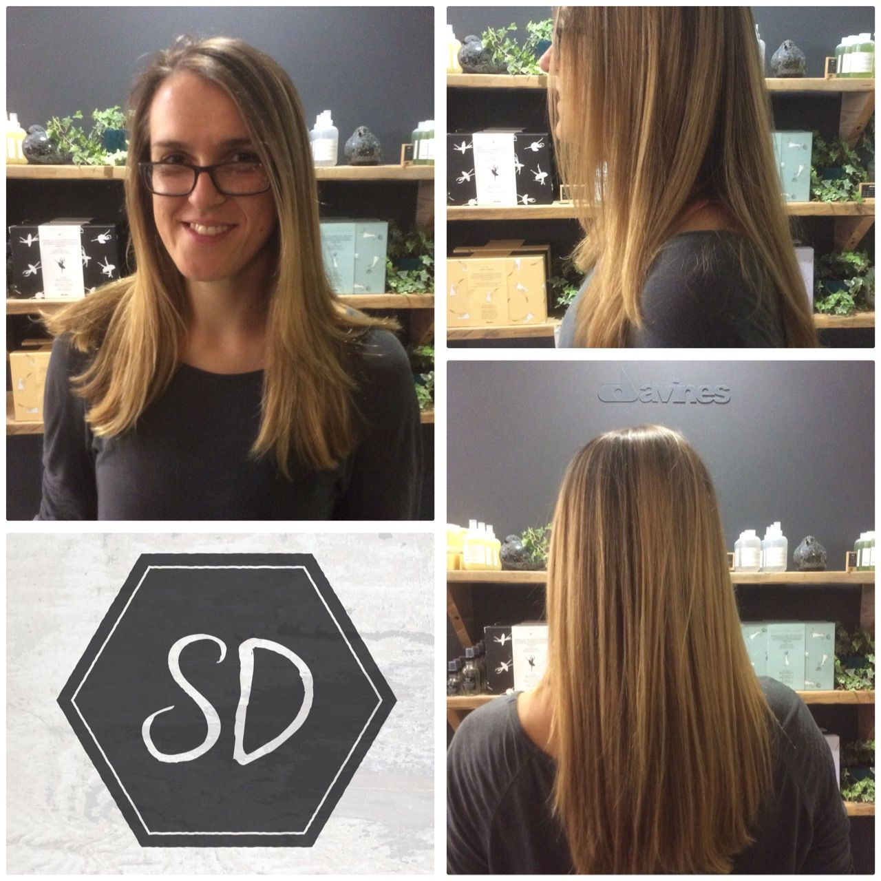 A stunning colour refresh with parting foils, by Charlene in the salon.  Book online with Charlene @ www.sdhair.co.uk or call 01179 502 402