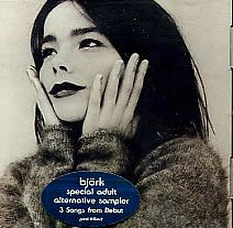 "For Sale - Bjork 3 Songs From Debut USA Promo  CD single (CD5 / 5"") - See this and 250,000 other rare & vintage vinyl records, singles, LPs & CDs at http://eil.com"