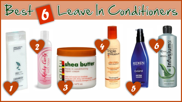 Best 17 Leave In Conditioners For Natural And Relaxed Hair ...