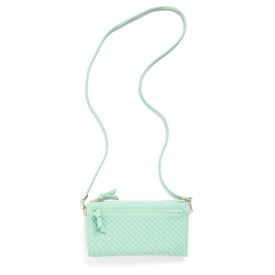 Stitch Fix Summer Accessories | Elle Woven Clutch