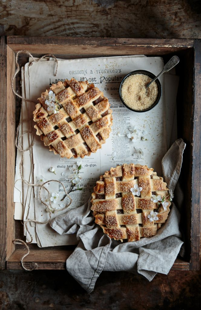 Cotswolds inspired apple tart.Bea's cookbook.Food photography and styling.