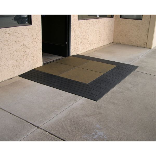 A StoneCap Coating Provides An Attractive Slip Resistant Finish - Ada slip resistance
