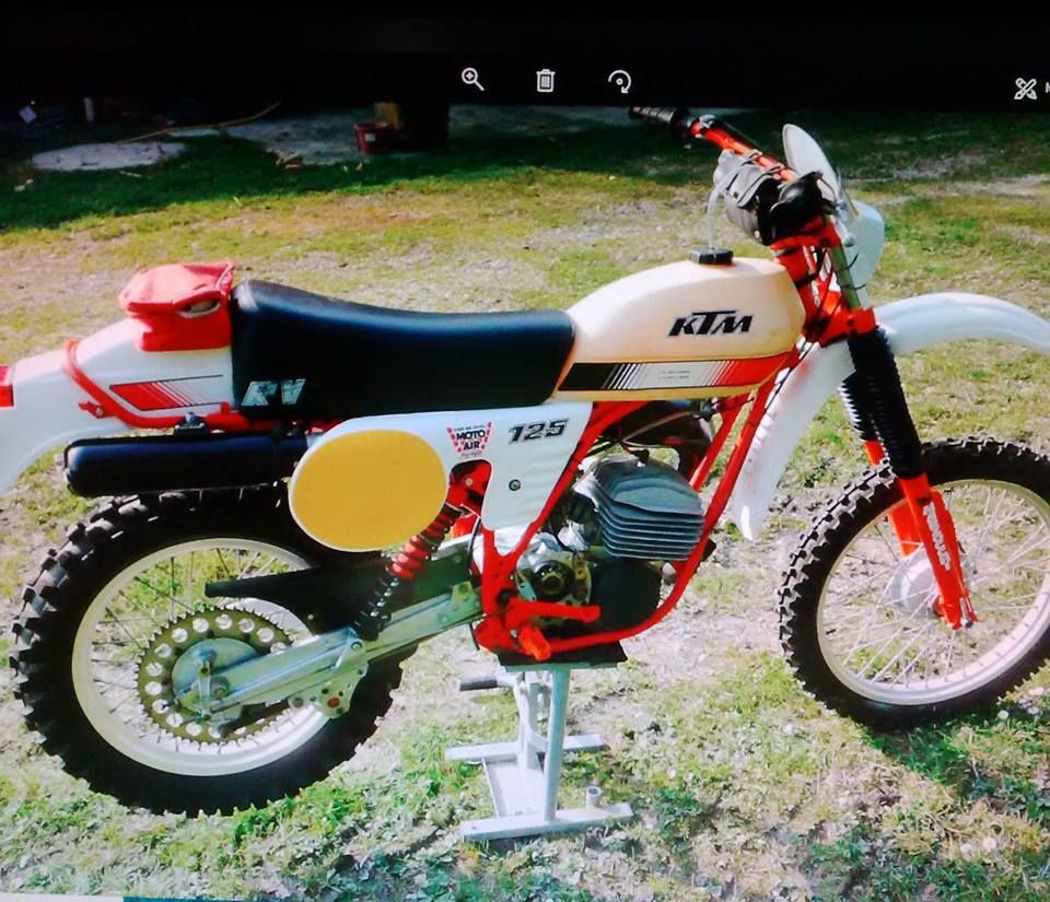 Ktm Rv 125 1980 Ktm Ktm Enduro Vintage Bikes