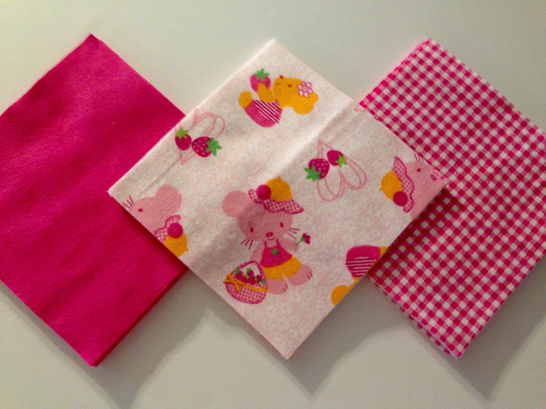 Cotton Flannel Pre Cut Fabric Squares 36-6.5 x6.5  Inch-Teddy Bear ... : pre cut flannel rag quilt kits - Adamdwight.com