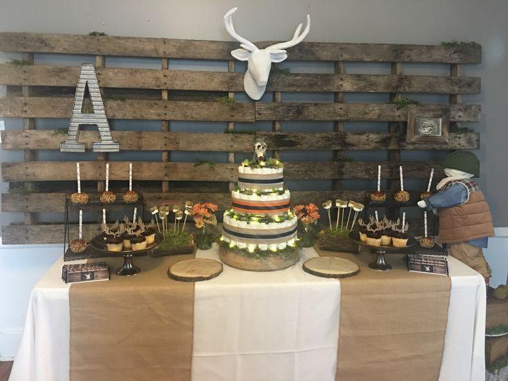 Camo Wedding Shower Cakes
