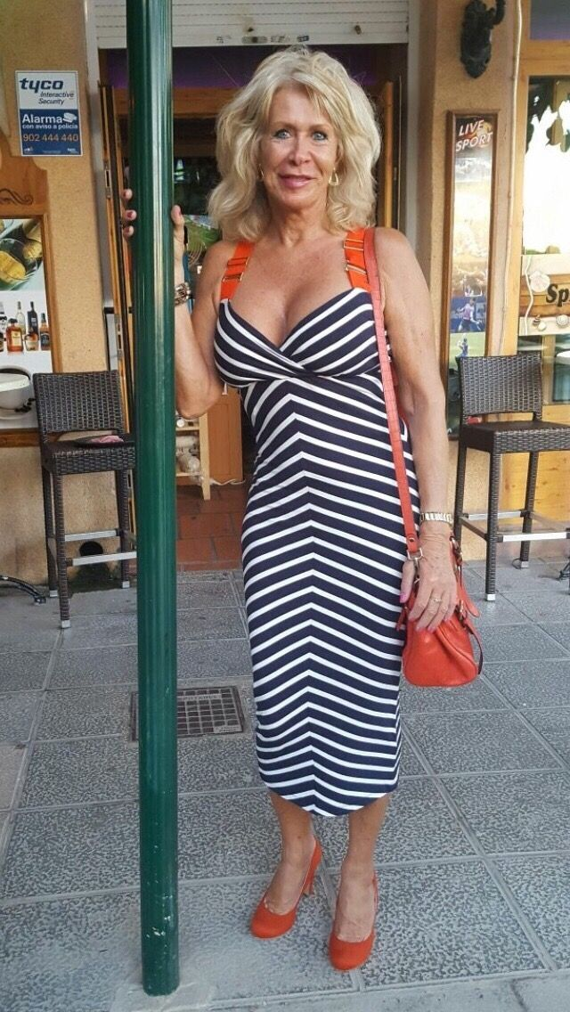 Sexy dressed mature women