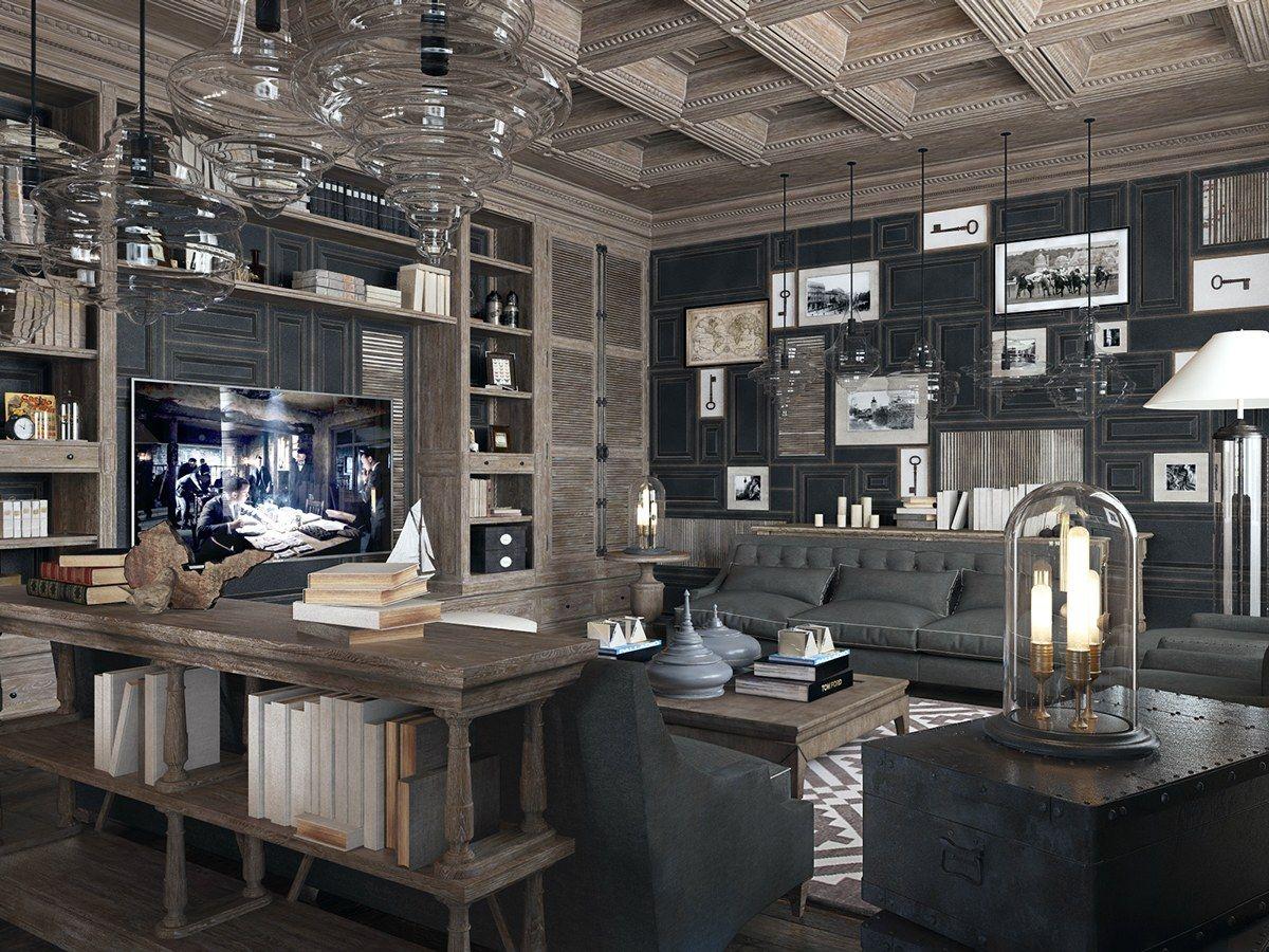 Elegant Living Room Design With Unique Concept. Letu0027s Make Your Guest Feel  Enjoy!