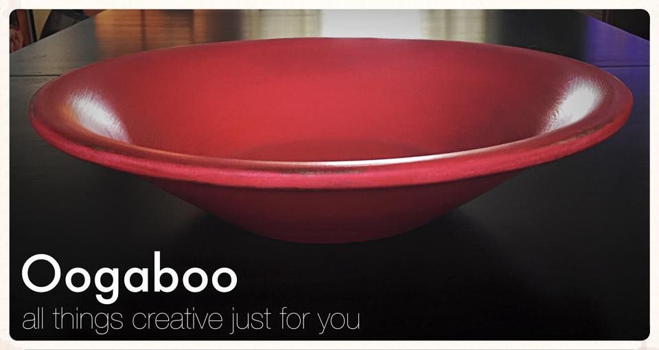Decorative Red Bowl Home Decorating