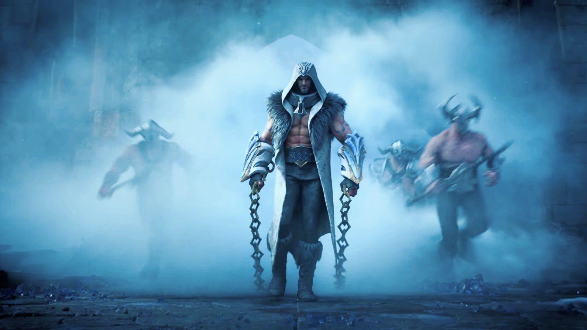 League Of Legends 2020 Warriors Cinematic Wallpapers in