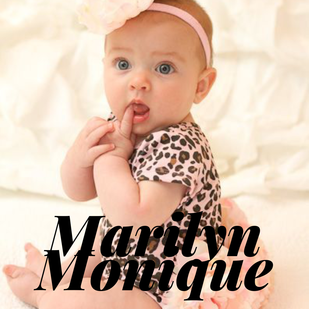 Baby Girl Name Marilyn Monique Babygirl Babygirlname Name Baby