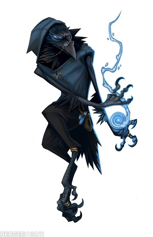 Rekki The Kenku By Neogeen Character Ideas Dungeons Dragons