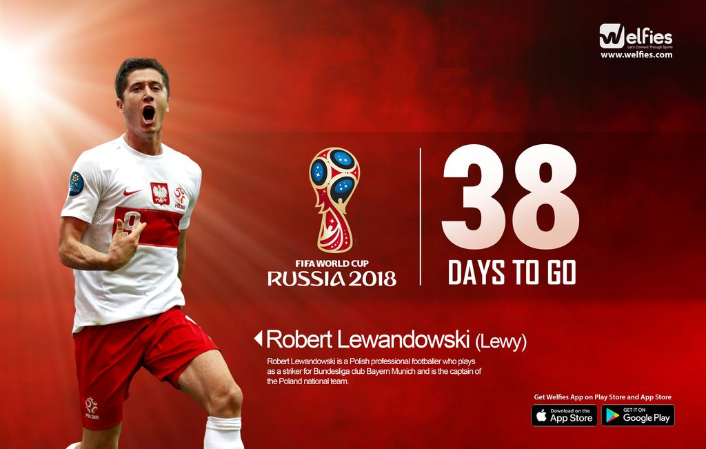 Are you ready!!! 38 Days more... Get Welfies App on Play