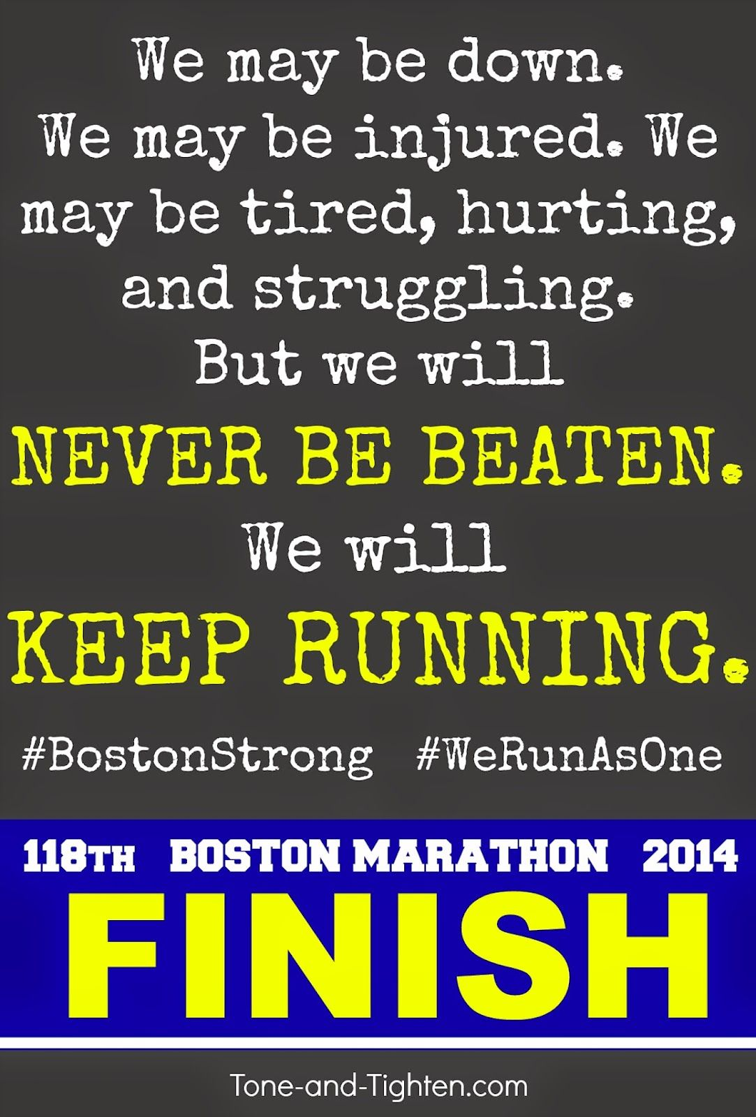 We Will Forever Be Boston Strong Boston Strong Marathon