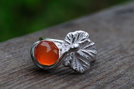 Rose cut berry ring. Adorable.