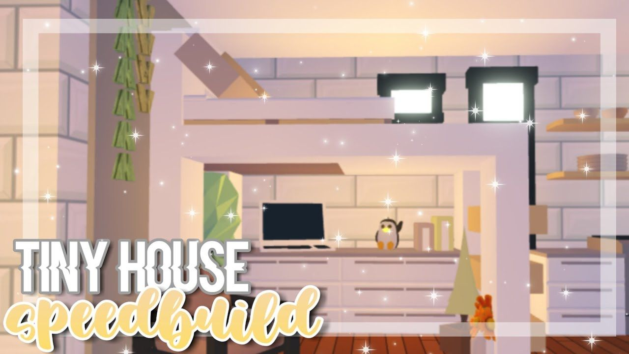 Cozy Tiny House Speedbuild Adopt Me Adopt Me Speedbuild In 2020 Tiny House Design Tiny House Layout Cool House Designs