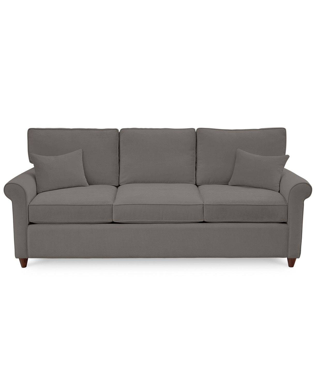 Furniture Lidia 82 Fabric Queen Sleeper Sofa Created For Macy S