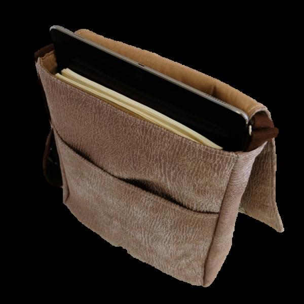 4281483df2 Sac besace homme - Sacoche ordinateur - En simili cuir résistant, de très  belle qualité - Personnalisable - Made in France by Lulu Factory -  Messenger bag ...