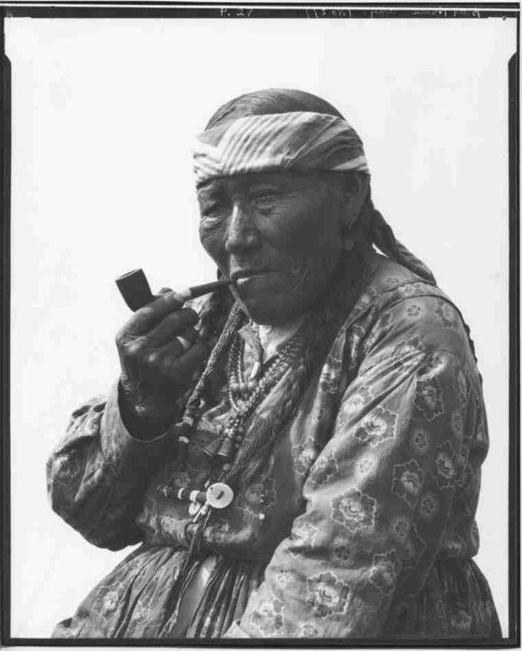 Betty Hunter, Assiniboine 1910