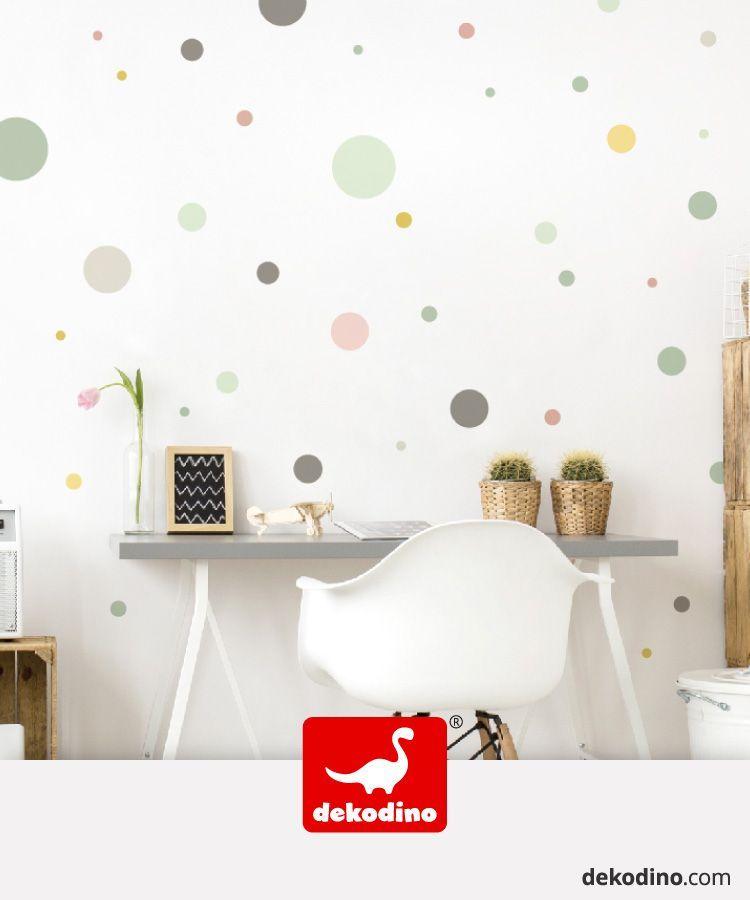 Wandtattoo Pastell Punkte In Altrosa Mint Und Grau Fruhlingshaftes Farbenspiel Fur Wande In 2020 Wandsticker Kinderzimmer Wandtattoo Kinderzimmer Kinderzimmer Farbe