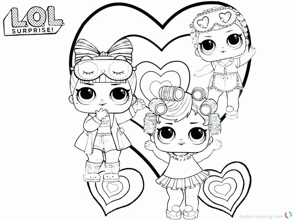 Lol Dolls Coloring Page Lovely Little Lids Siobhan Lol Doll Colouring Pages Coloring Pages For Boys Baby Coloring Pages Unicorn Coloring Pages