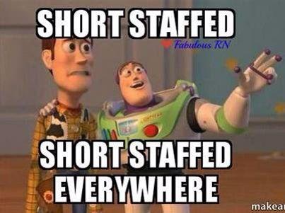 Short Staffed Nursing Memes Nurse Humor Teacher Humor