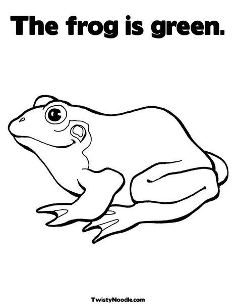 Frog Template Vyshivka Makrame