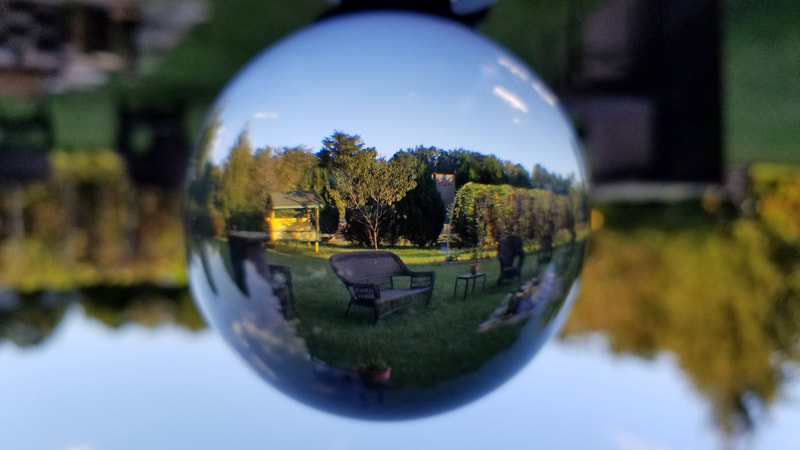 Clear Glass Crystal Ball Healing Magic Sphere Photography Props Lensball Room Decoration Home Decor Gift Crafts Balls Gif Decor Crafts Crystal Ball Decor Gifts