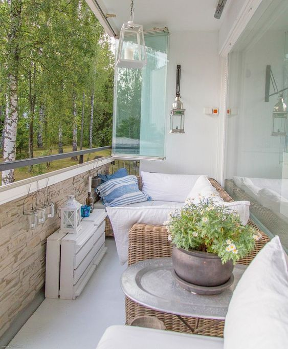 17 Lively Shabby Chic Garden Designs That Will Relax And: Trasformare Il Balcone In Un Angolo Relax... 20 Idee