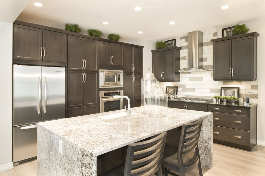 Waterfall Kitchen Counter Tops