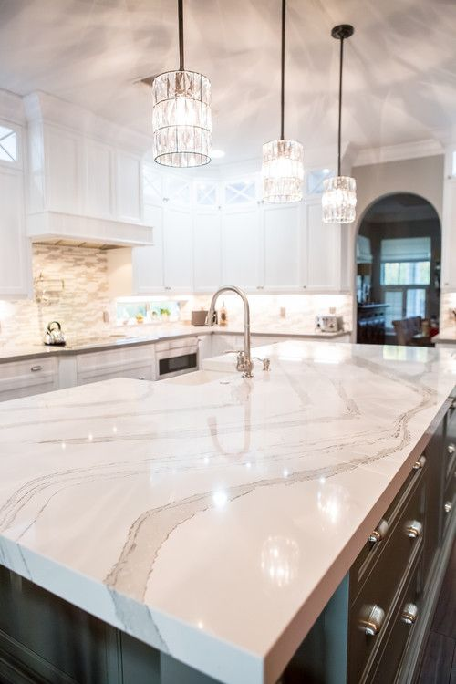 Giles Residence By Marble And Granite Connection Inc Kitchen Tiles Houzz Countertops