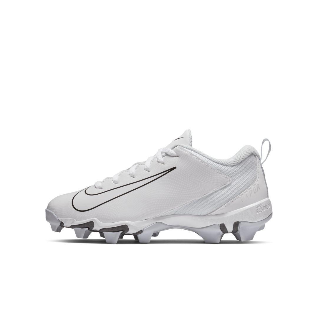 6f6be1c00 Nike Vapor Shark 3 Little Big Kids  Football Cleat Size 1Y (White ...