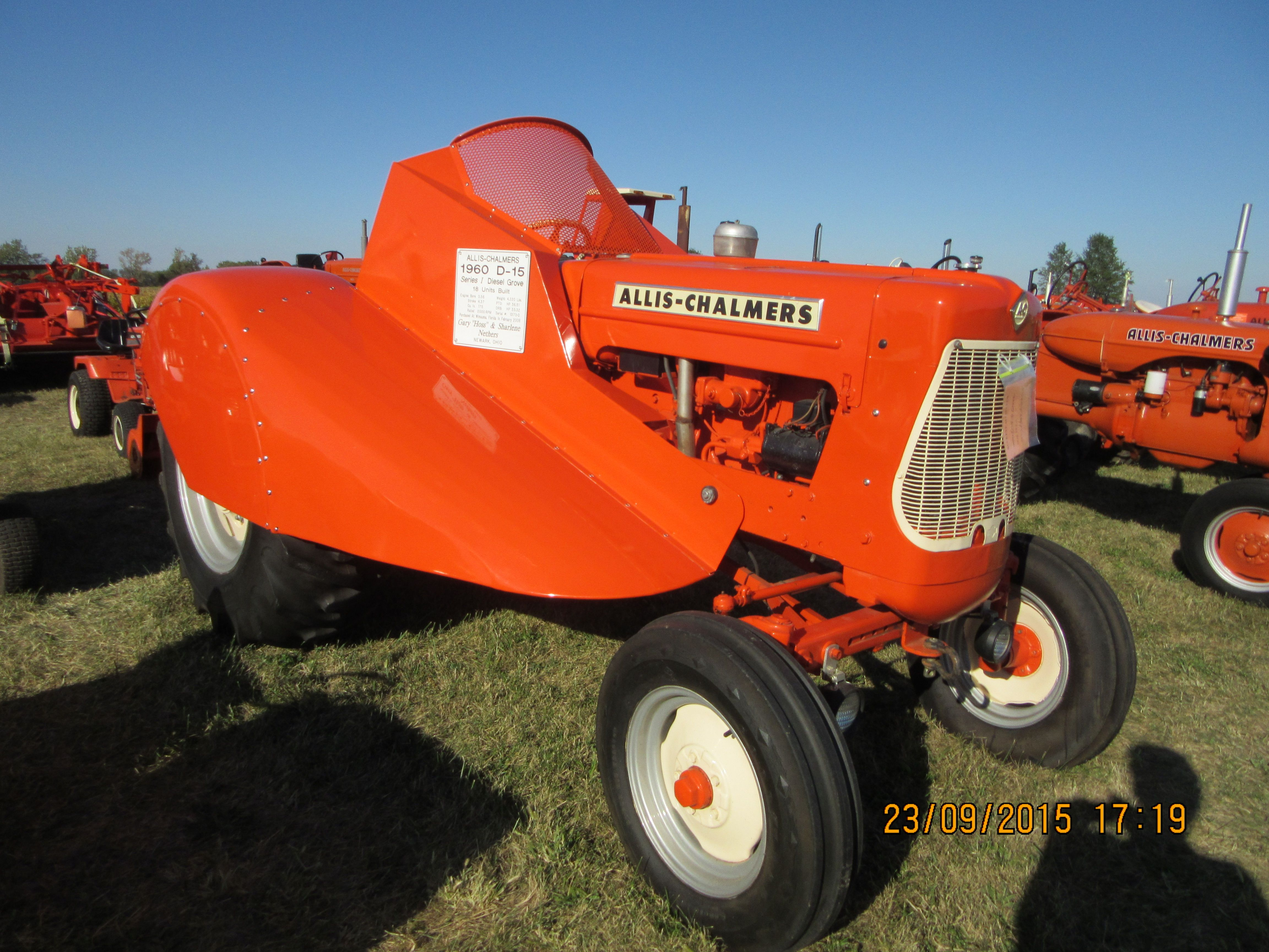 Ford Orchard Tractor : Rare allis chalmers d orchard tractor