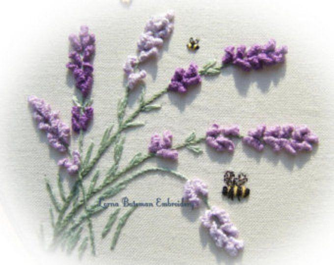 PDF Lavender in the Breeze | Lavanda y Bordado
