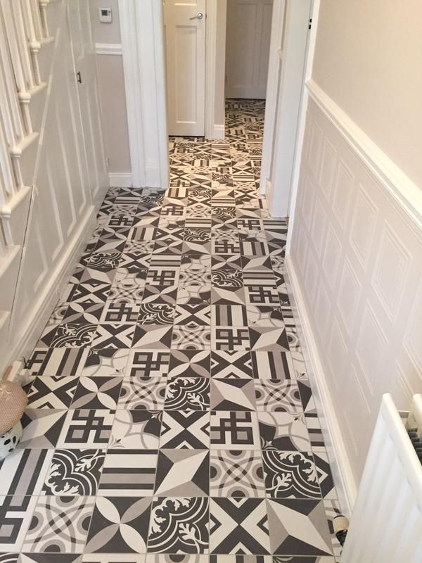 20 S Multi Pattern Porcelain Victorian Tiles Feature Tiles
