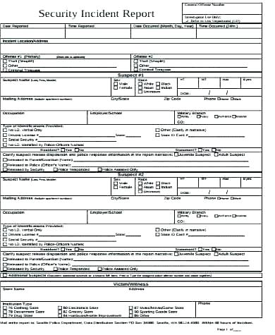 Motor Vehicle Accident Report Form Template 2 Templates Example Templates Example Di 2020