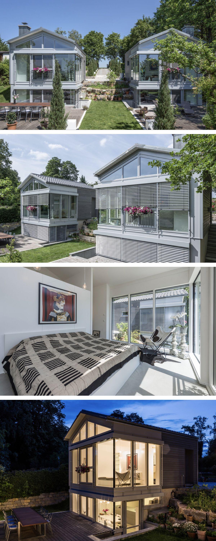 Moderne Holzhaus-Architektur - Haus Neubrander von Baufritz ...