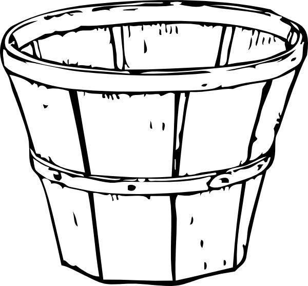 Image result for empty basket of apples line drawing