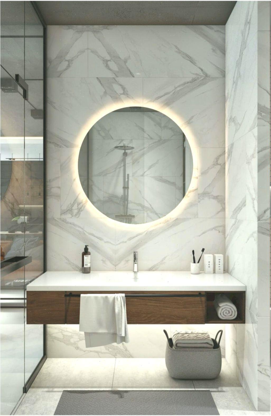 Badezimmerinterieur Bathroominteriormodern Runde