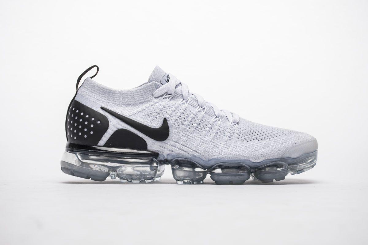 newest 7b5c8 9e094 Nike Air VaporMax 2.0 942842-103 White Black Mens Shoes Nike ...