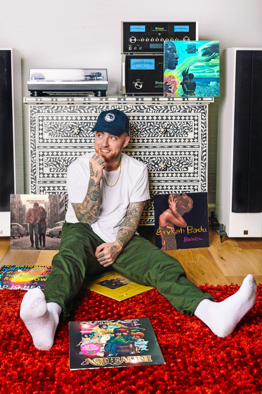 Mac Miller aka Larry Fisherman/REMmember music in 2020