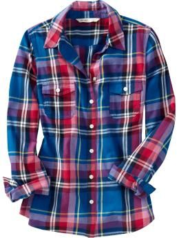 5f17df320c5ec Old Navy has these great flannel plaid shirts right now. Sadly for ...