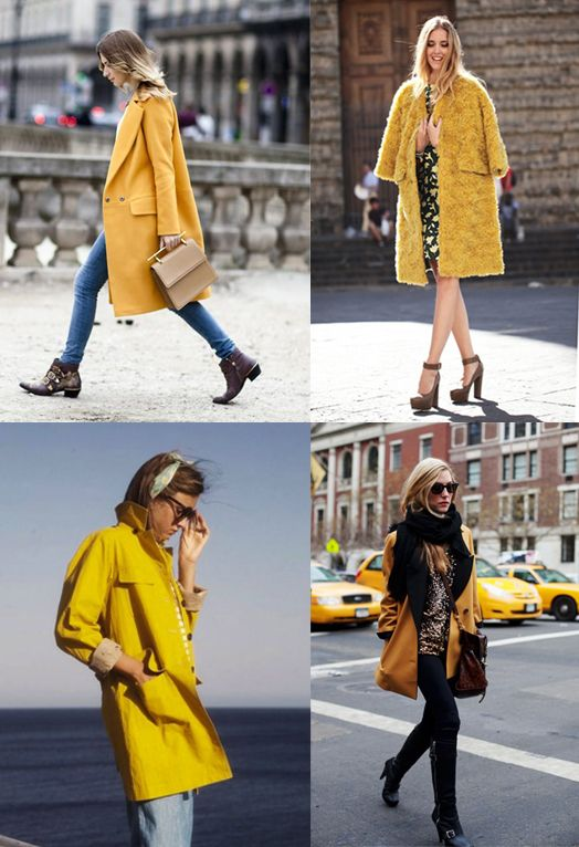 Women S Yellow Jacket Coat Fashion Trendy Key